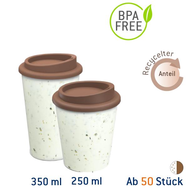 Recycling Coffee to go Mehrwegbecher