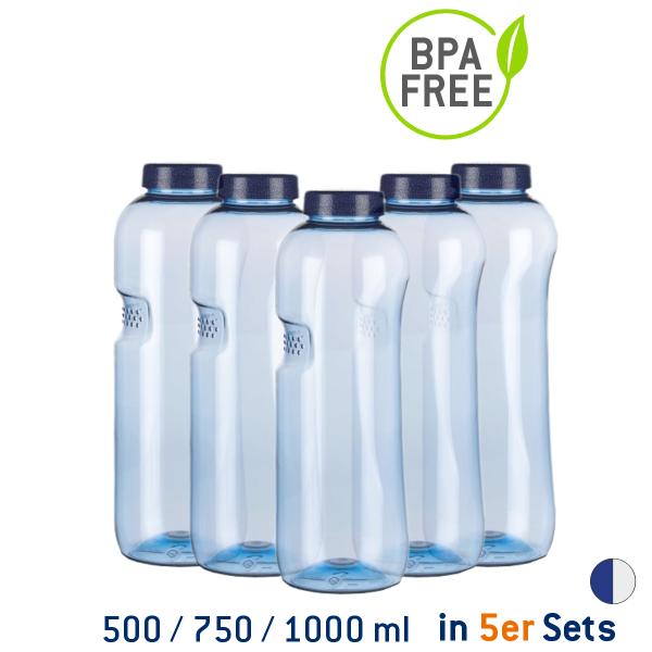 Kavodrink Blue Style Flaschen-Set 5 Stück
