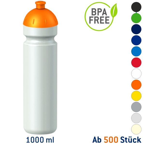 Classic Fitness-Trinkflasche 1000 ml