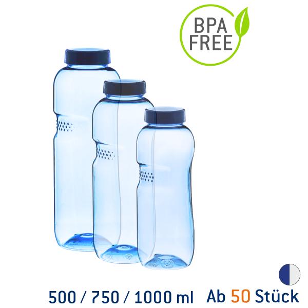 Kavodrink Blue Style Tritan-Trinkflasche