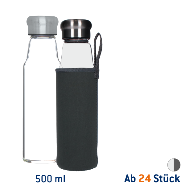 Glasflasche Life 500ml