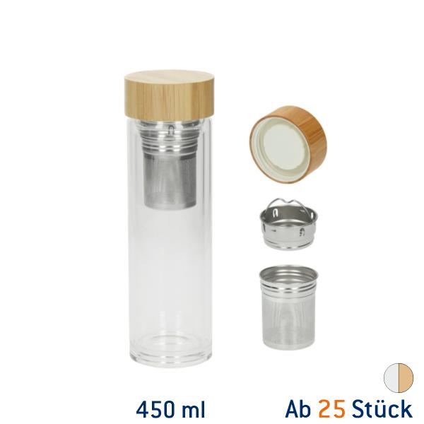 Thermo Glasflasche Tea2Go Vaso 450 ml